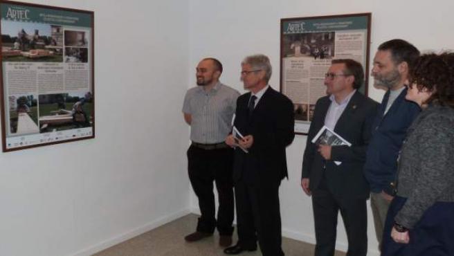 Exposición en la Escuela de Artes de Teruel