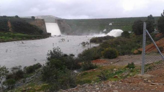 El embalse del Jarrama, en la provincia de Huelva