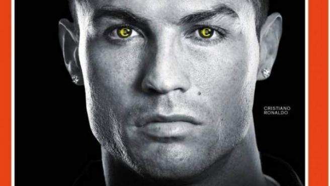 Portada del semanario alemán, con la figura del jugador del Real Madrid Cristiano Ronaldo.