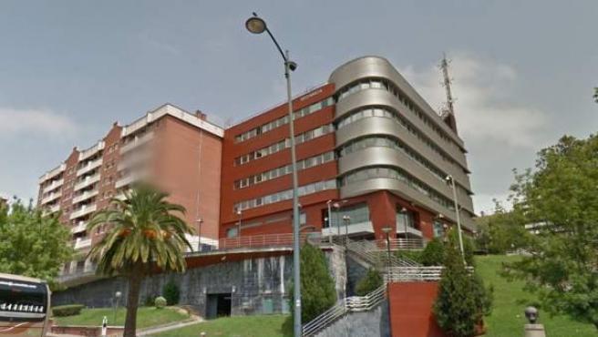 Imagen de la sede de la Ertzaintza en Bilbao.