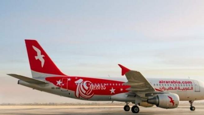 Air arabia vuelo málaga tanger