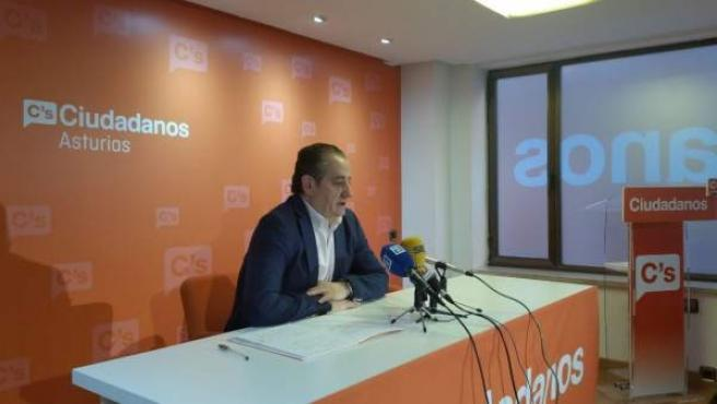 Nicanor García, Ciudadanos Asturias