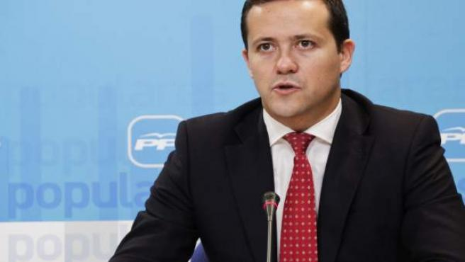 El diputado regional del PP, Carlos Velázquez