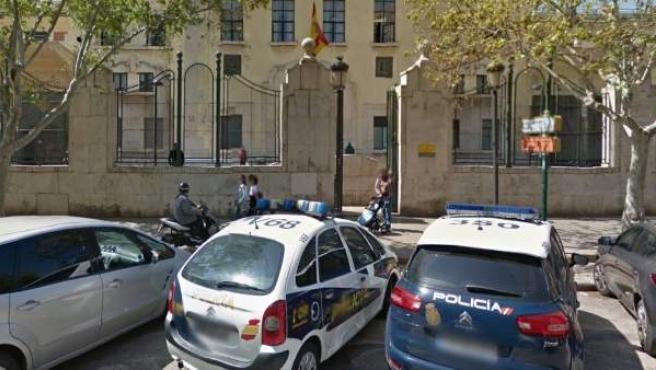 Comisaría de Abastos en Valencia.