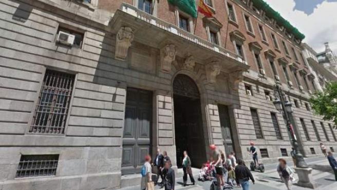 Imagen de la fachada del Ministerio de Hacienda en Madrid.