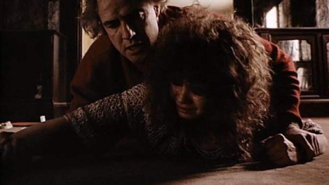Imagen de la escena de la violación en la película 'Último tango en París'.