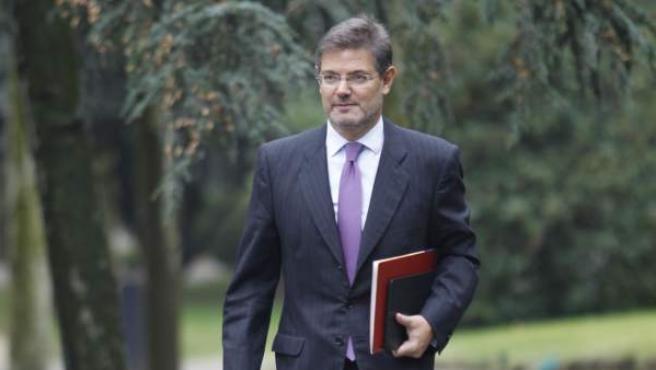 Rafael Catalá, ministro de Justicia, en una imagen reciente.