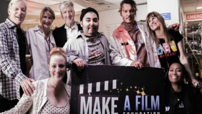 Johnny Depp o J.K. Simmons, entre los famosos que han rodado el corto de un enfermo de cáncer