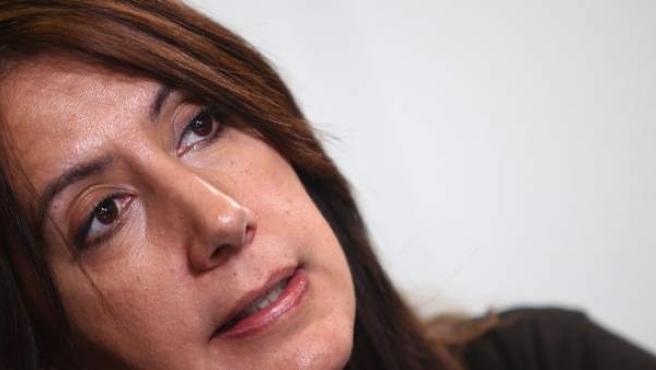 La escritora Dolores Redondo, en entrevista con '20minutos'