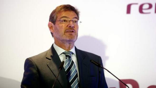 El ministro de Justicia, Rafael Catalá, en un acto.