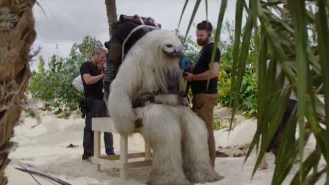 Vídeo: así se hicieron las criaturas de 'Rogue One'