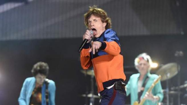 Mick Jagger y los Rolling Stones en el festival Desert Trip, en octubre de 2016.