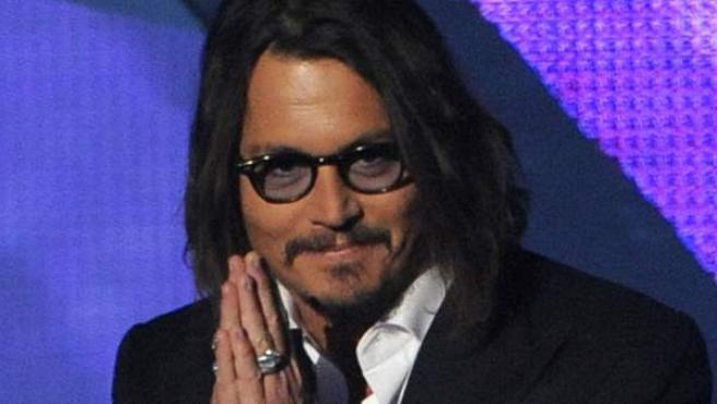 El actor Johnny Depp, en una imagen de archivo.