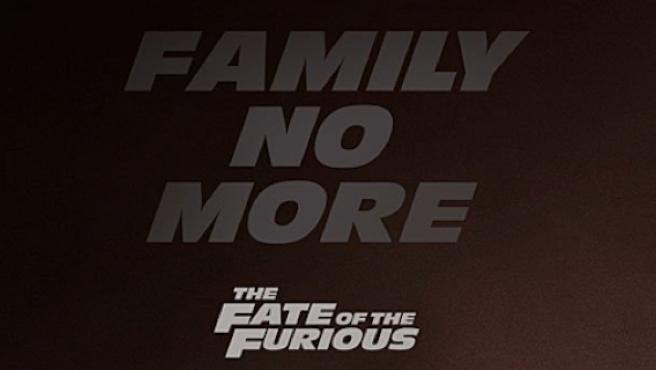Llega el cartel de 'Fast and Furious 8' (mientras seguimos esperando el tráiler)