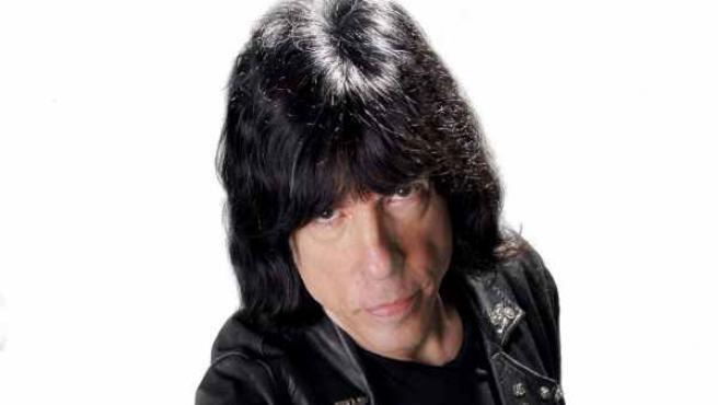 El batería de Los Ramones, Marky Ramone.