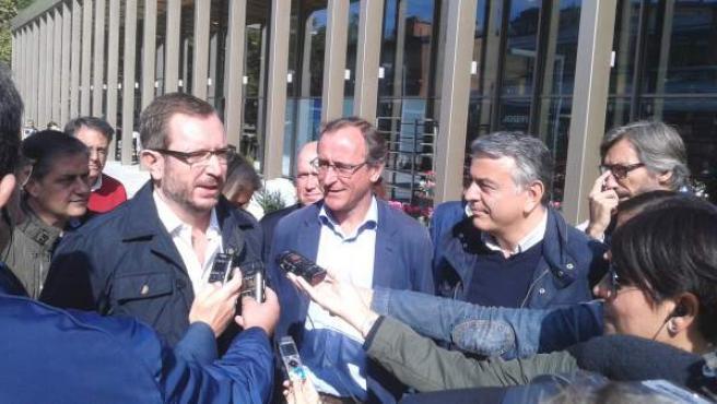 Javier Maroto y Alfonso Alonso, en una imagen de archivo.