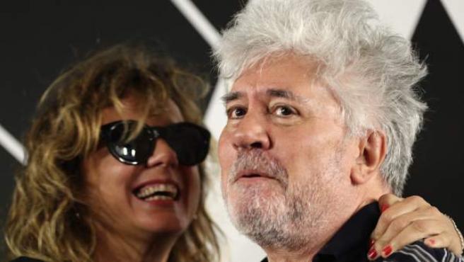 Pedro Almodóvar en la Academia de Cine.