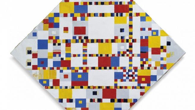 Composición de Piet Mondrian