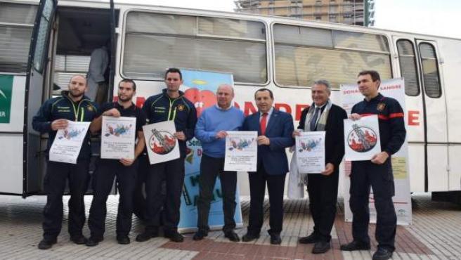 Presentación de la campaña de donación de sangre en Málaga