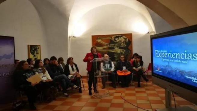Presentación proyectos de Igualdad en Cáceres
