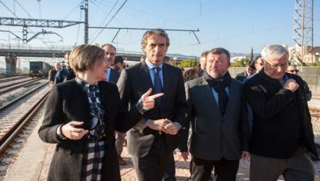 La responsable de Obras Públicas y el alcalde de Valencia han visitado las obras