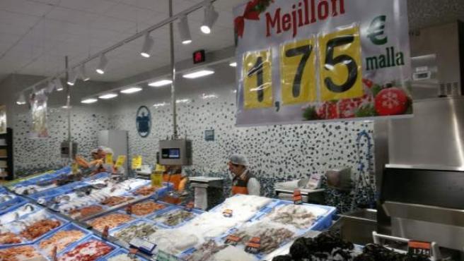 Supermercado Mercadona en el Puerto de Sagunto