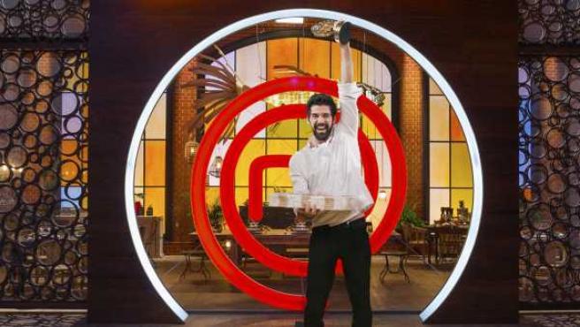 El actor Miguel Ángel Muñoz ganó la primera edición de 'MasterChef Celebrity'