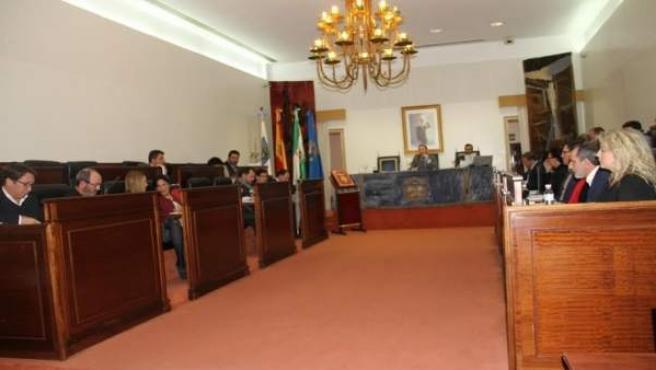 Pleno de la Diputacion Huelva del mes de diciembre.