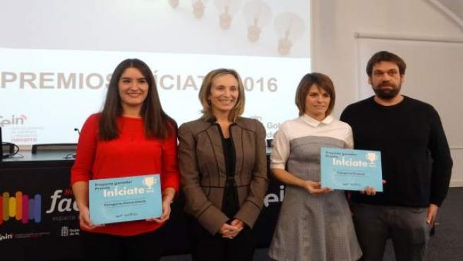Ganadores de los premios InÍciate 2016