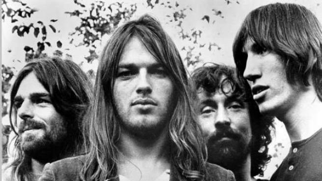 Imagen del grupo Pink Floyd.