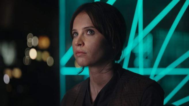 Rogue One, Felicity Jones como Jyn Erso