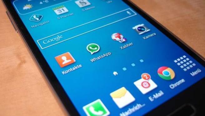 Varias aplicaciones en un móvil Android.