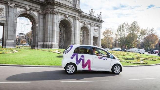 Este servicio de coche compartido puede gestionarse a través del móvil.