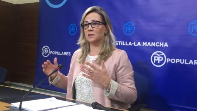 Lola Merino, diputada regional del Partido Popular, en una imagen de archivo.