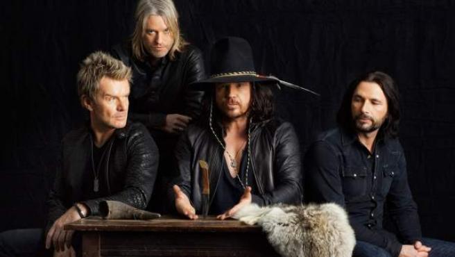La banda británica The Cult.