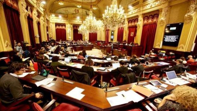 Pleno de aprobación de los presupuestos 2017 en el Parlament
