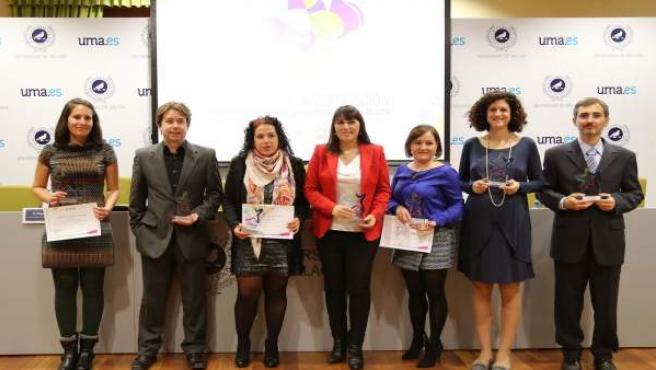 Acto de entrega de los premios a jóvenes investigadores.