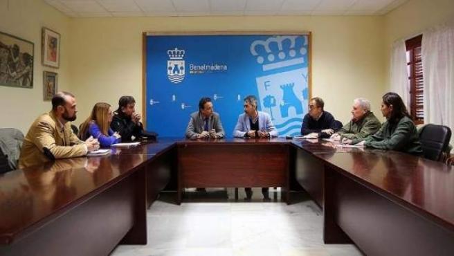 Alcaldedes de Torremolinos y Benalmádena