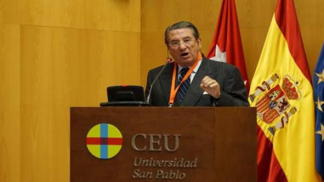 Francisco Vázquez en en el XIV Congreso Católicos y Vida Pública