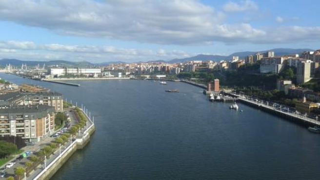 Cielos con nubes en Euskadi