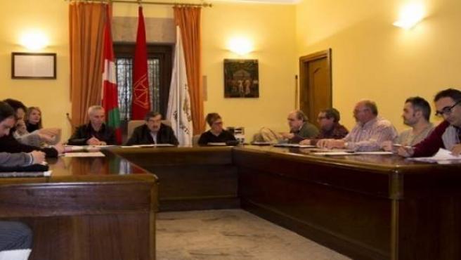 Pleno del Ayuntamiento de Lezo.