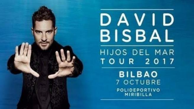Davir Bisbal, concierto en Bilbao