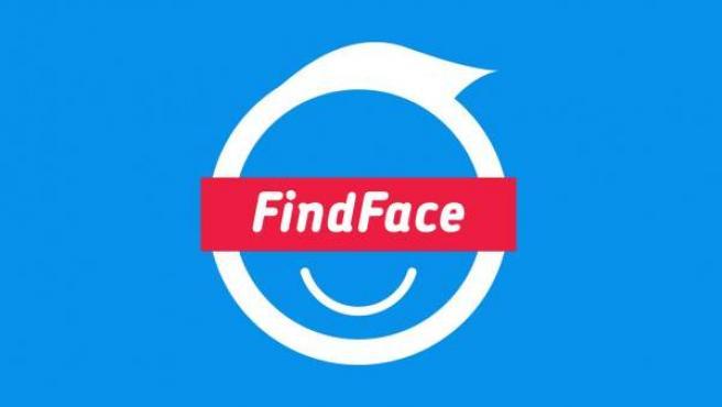 Logo de FindFace, la aplicación que permite identificar a desconocidos a través de Twitter.