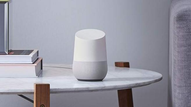 El asistente virtual para el hogar Home es la gran apuesta de Google por la inteligencia artificial.