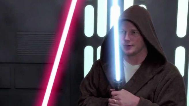 Vídeo: Darth Vader contra Chris Pratt (y sus calzoncillos)