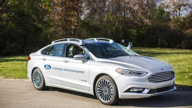 El coche autónomo de Ford ya se prueba en carreteras de Estados Unidos.