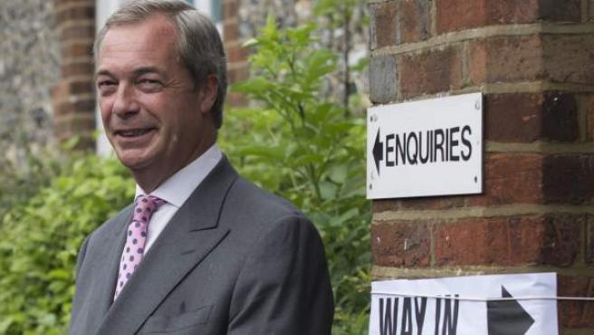 Nigel Farage, líder de UKIP, y uno de los principales exponentes del populismo.