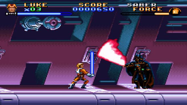 ¿Cómo sería el final de 'Rogue One' en versión videojuego retro?