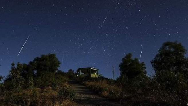 Las Cuadrántidas están asociadas con la estela del asteroide EH1 2003.