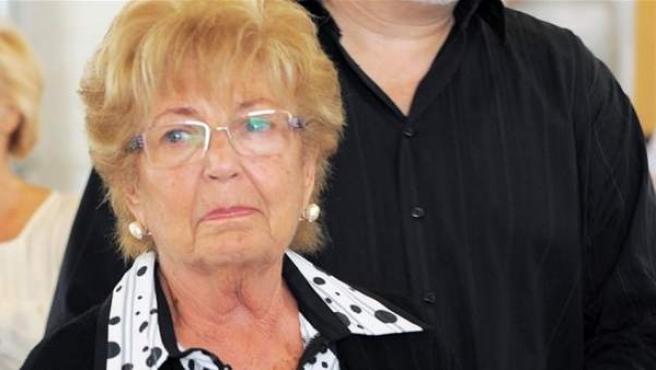 Anita Marx, viuda de Manolo Escobar.